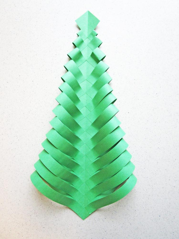 The folded tree.