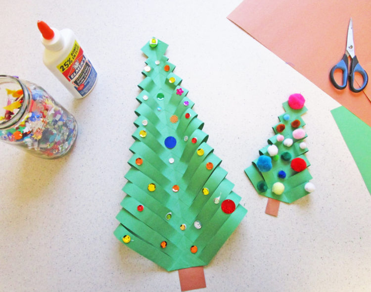 Decorate the trees.