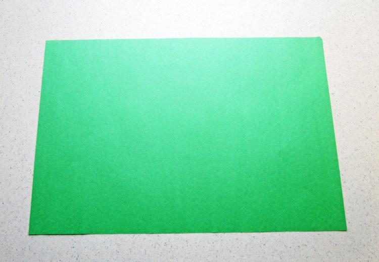 Sheet of paper.