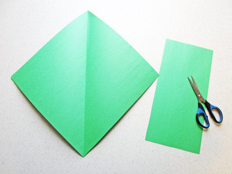 Cut the paper.