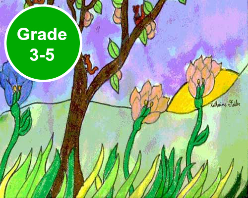 Grade 3 4 And 5 Art Lessons KinderArt