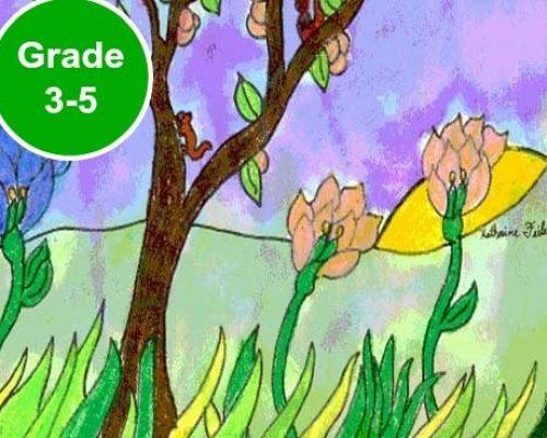 Grade 3, 4 and 5 Art Lessons. KinderArt.com