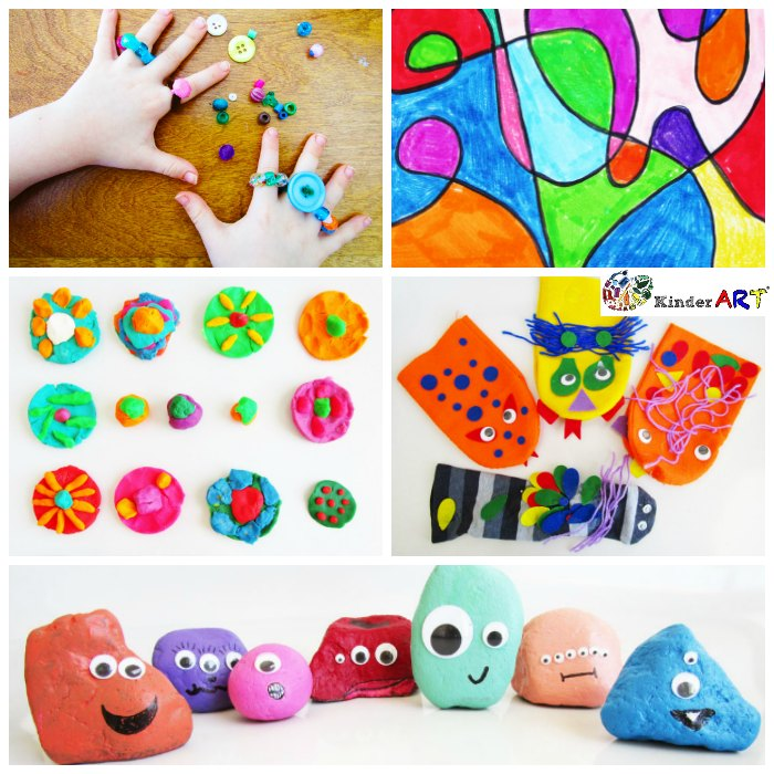 5 Creative Activities For Kids Kinderart
