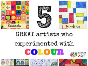 5 Artists Who Experimented with Colour. KinderArt.com