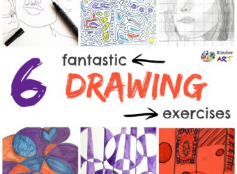6 Fantastic Drawing Exercises