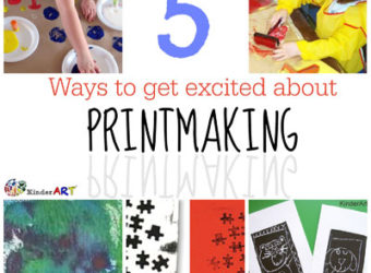 5 Ways to Get Excited About Printmaking. KinderArt.com