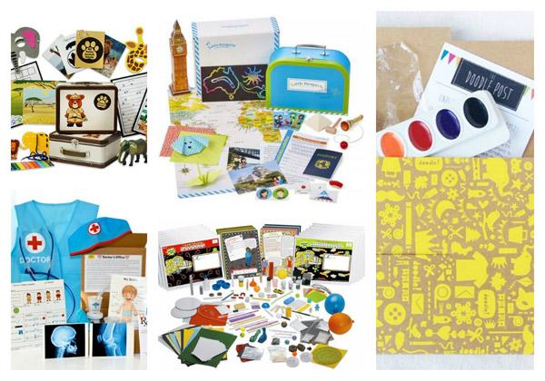 5 Fantastic Subscription Boxes For Curious Kids Kinderart