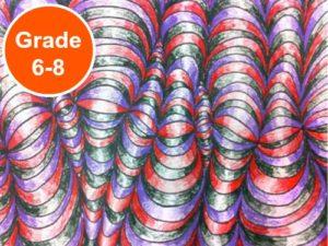 Grade 6, 7 and 8 Middle School Art Lessons. KinderArt.com