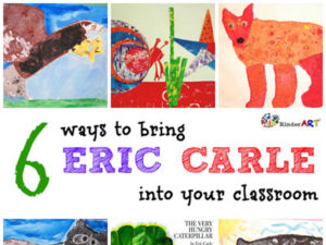 6 Ways to Bring Eric Carle to Your Classroom. KinderArt.com