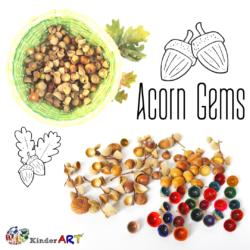 Acorn Cap Gems