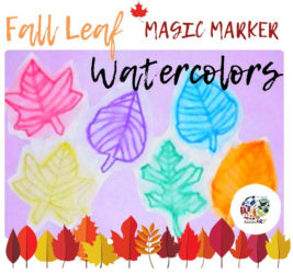Fall Leaf Watercolors