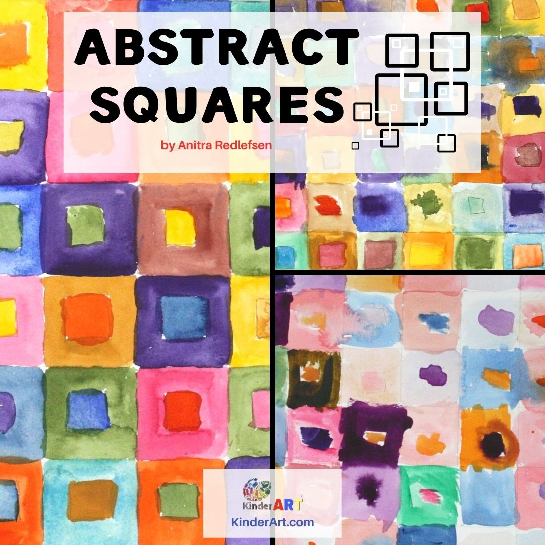 Abstract Squares Art Lesson Plan