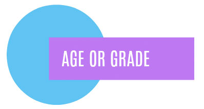 Art Lessons by Age or Grade