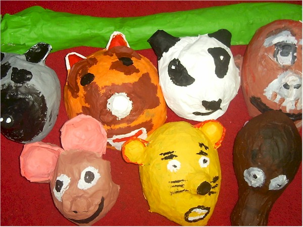 halloween crafts animal masks