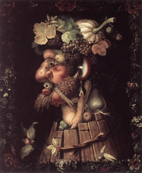 Fruit And Vegetable Portraits Giuseppe Arcimboldo Kinderart