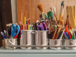 Art lessons by supplies or technique