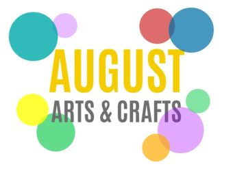 August Arts, Crafts and Activities for Kids from KinderArt.com