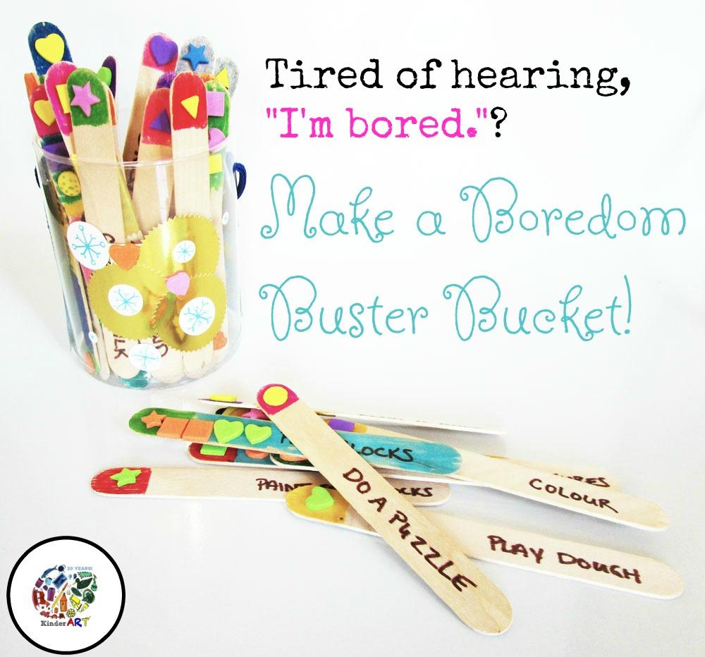 Make a Boredom Buster Bucket