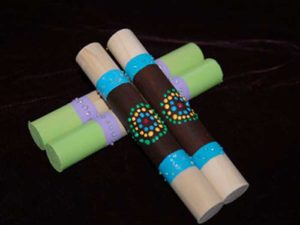 Make a bilma craft for kids.