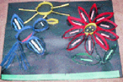Bird and flower paper quilling kinderart bird and flower paper quilling mightylinksfo