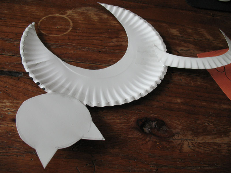 Halloween Craft With Paper Plates For Toddlers