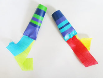 Party Blowers for Kids. KinderArt.com