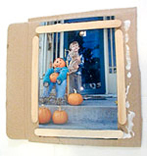 Bubble picture frame - how to.