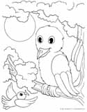 free animals and baby animals coloring pages to print and color