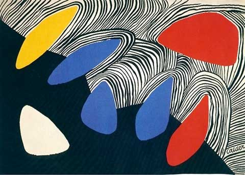 Alexander Calder Glacier with Coloured Petals