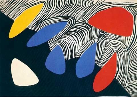 Alexander Calder Glacier with Coloured Petals