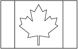 Free Flags of the World Coloring Pages to Print and Color Online