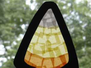 Candy Corn Paper Craft. KinderArt.com