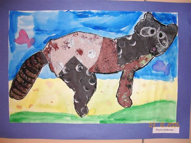 Eric Carle Animal Collage