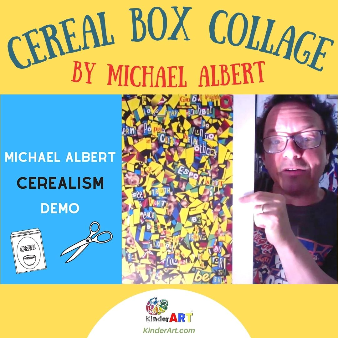 Cereal Box Collage with Michael Albert