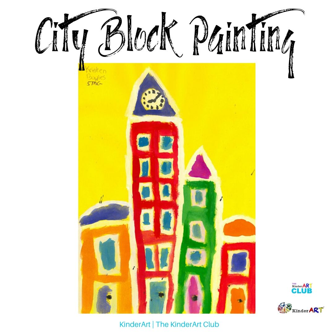 City Block Painting