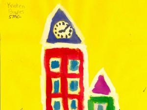 City block painting lesson