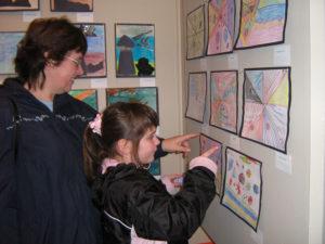 How to look at art. KinderArt.com.