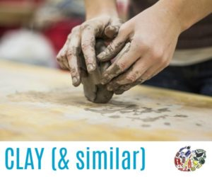 Clay and Modelling Materials