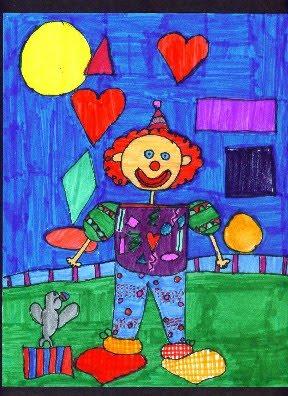 How to Draw Clowns with Dan Triplett. From KinderArt.com