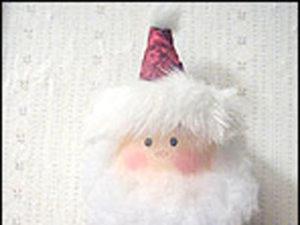 Coffee Creamer Santa craft.