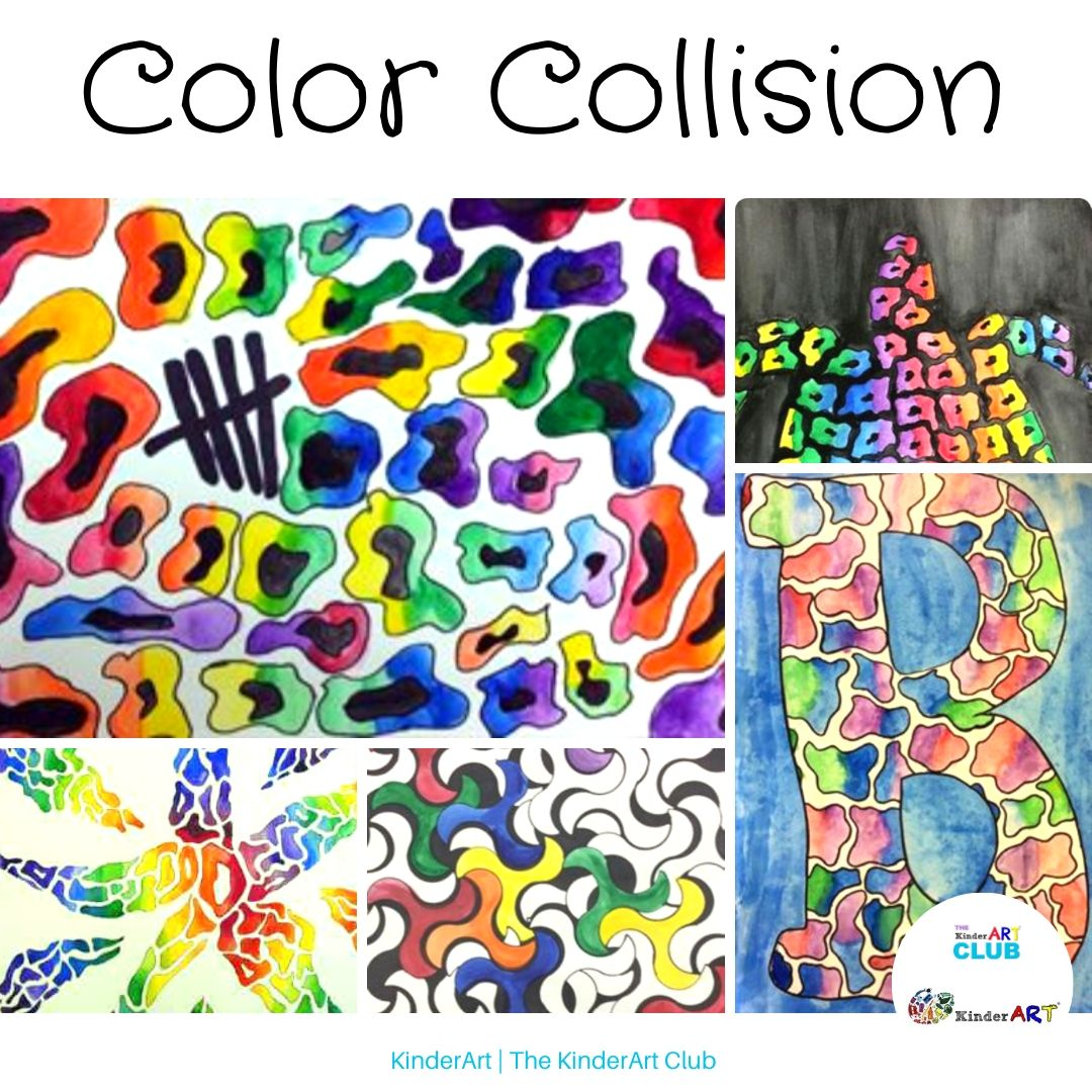 Color Collision lesson plan