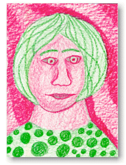 Complementary Colors Portraits Drawing Lessons For Kids KinderArt