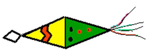 Cone Cup Pinata Craft. KinderArt.com
