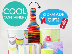 Cool containers kids can make. KinderArt.com