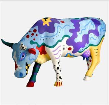 Cow Doodles Art Lesson