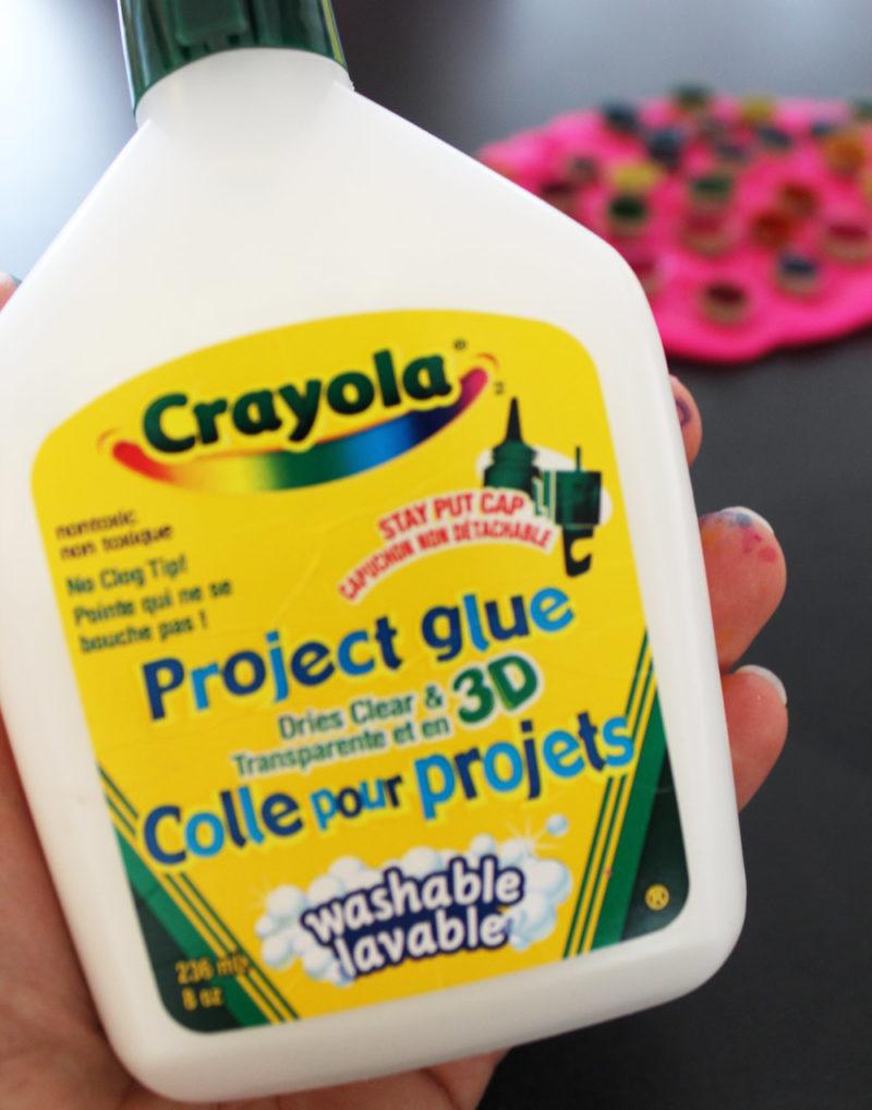 Crayola glue.