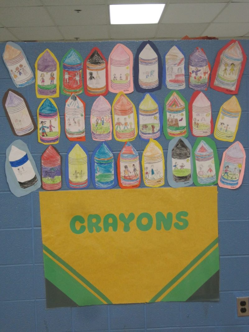 Ms. Motta's crayon box that talked.