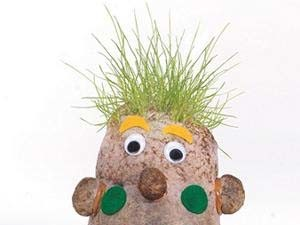 Grass Head Guy