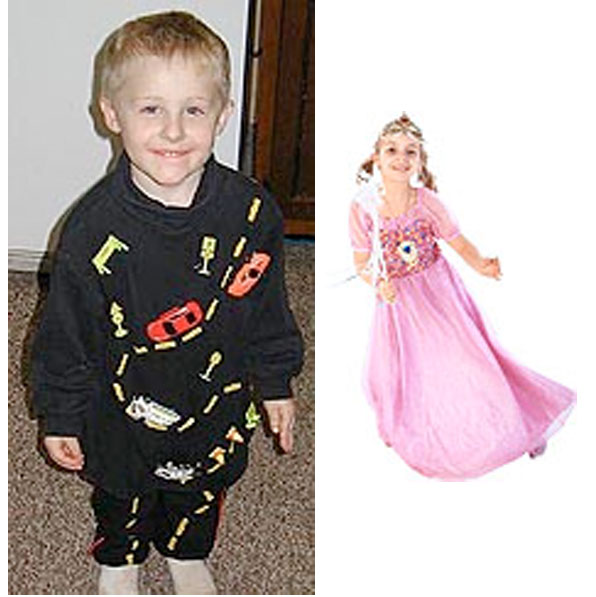 Creative costume ideas for kids.