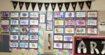 Creative Cursive Art Lesson Plan for Middle School